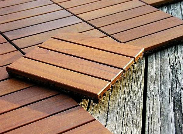 Il pregio dei pavimenti in legno per esterni a padova